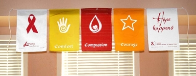 Image Custom Prayer Flags for Public Facilities