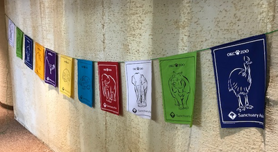 Image Custom Prayer Flags for Your Place of Business